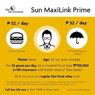 Php 52 a day insured kana