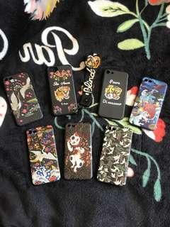 🚚 立體浮雕手機殼。虎頭。鯉魚。英文字手機殼。iphone 4.7手機殼