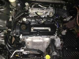 Waja mmc engine for sale 3k ...gen2,persona,satria neo,waja campro all can use