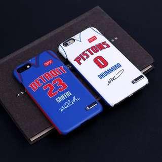 🏀預購款式🏀NBA Detroit Pistons iPhone case 活塞手機殼