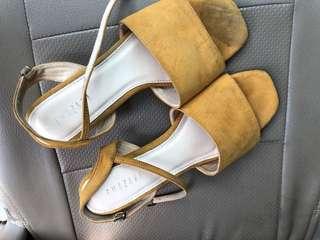 Amazara mustard heels
