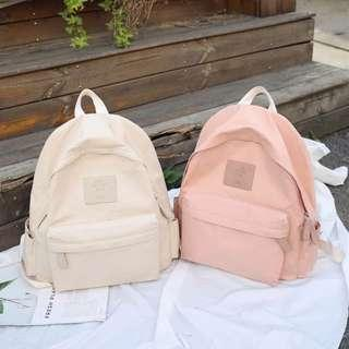 ✨CHIC✨ Eundo Pastel Series Collection Backpack Bag