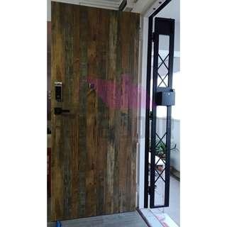 Solid Laminate Main Door for HDB/BTO