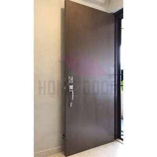 Solid Veneer Main Door for HDB/BTO