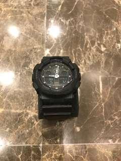 100% Original G-Shock GA-100MB-1ADR Jam Tangan Watch