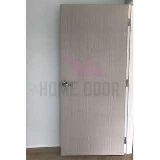 Solid Laminate Bedroom Door for HDB/BTO