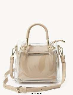 Pamelo Clear Cover Body Bag