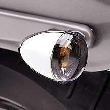 1 Pair Harley Davidson Smoke Signal Light Lens Cover
