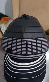 PUMA GREY BASEBALL CAP