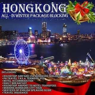 Hong Kong Winter All In Blockings Via Hong kong Airlines