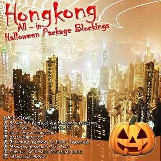 Hong Kong Halloween All In Blockings Via Hong kong Airlines