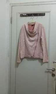 Jacket hangat pink