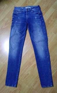 Bershka Skinny Low waist Denim