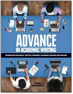 Advance in Academic Writing (Steve Marshall)