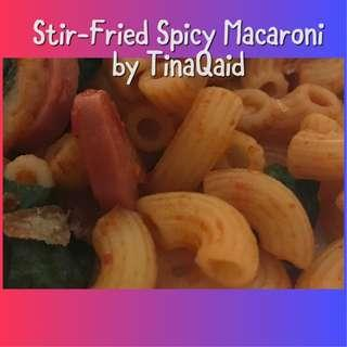 Fried Macaroni (Spicy/non-Spicy)