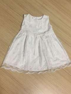 WHITE DRESS LACE