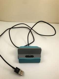 USB Hub - iPhone charging dock