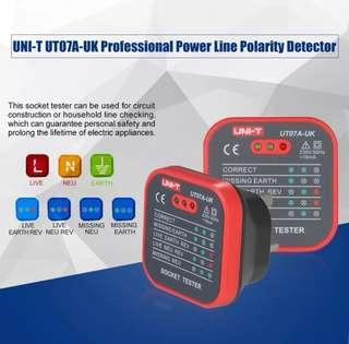 Professional Socket Tester Electrical Live Earth Line Polarity Detector