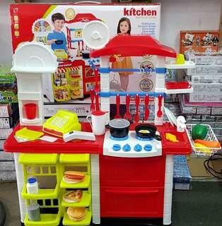 Kitchen Set With Home Supermarket