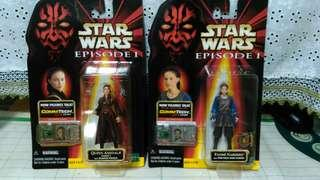 Star wars Episode 1 Queen Amidala and Padme set.