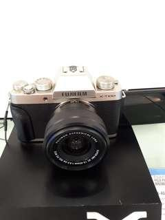 Kamera Fujifilm X-T100 New Mirrorless (Kredit MURAH)