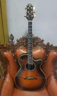 Gitar crafter acoustic fx 570 eq sunburts