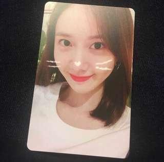 Yoona FM Photo Card