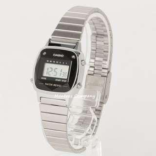 Montres Company香港註冊公司(25年老店) CASIO LA-670WAD LA-670WAD-1 LA-670WAD1 LA670WAD LA670WAD1 LA670WAD-1 鑽石錶 made in JAPAN 日本製造
