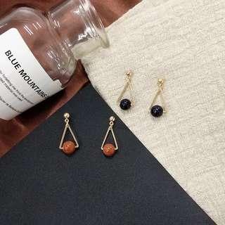 Pretty Dinner Earrings From Korea #OCT10