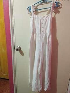 Jumpsuit White brought from Hk