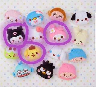 [Juniorcloset] 🚨FREE POSTAGE🚨🆕️ authentic Sanrio Pompompurin pouch Melody pouch Kuromi pouch