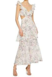 JASPER HONEYCOMB DRESS TIER ZIMMERMANN