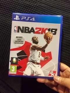 PS4 Game NBA 2K18