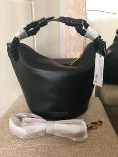 Original Charles & Keith Bucket Braided Bag