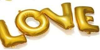 Foil Balloons - LOVE