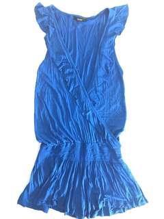 Royal Blue Jumper Shorts