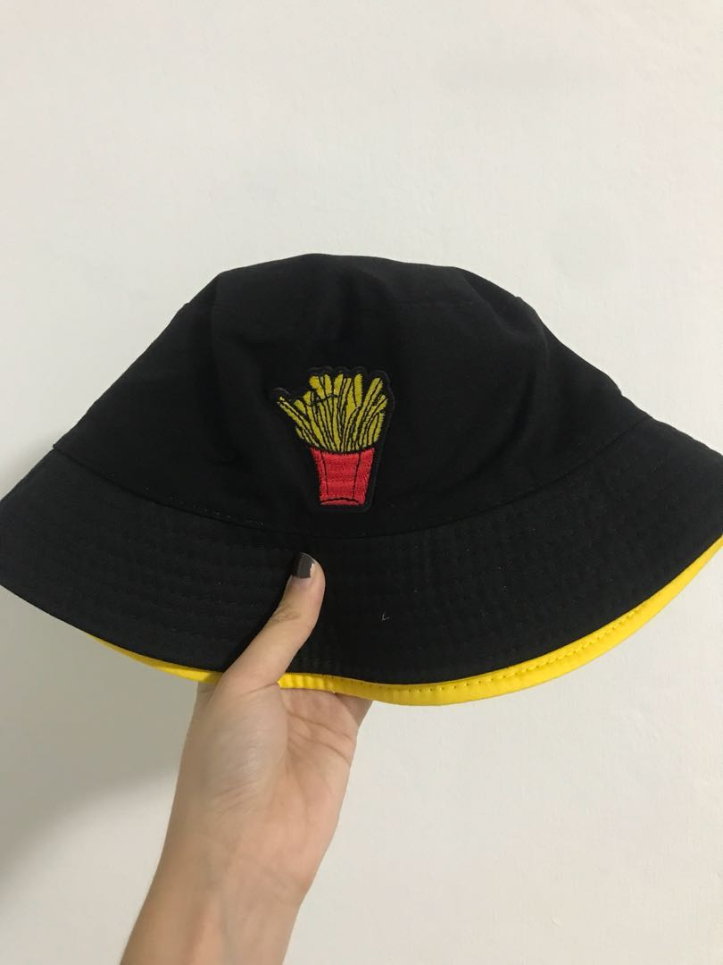 2 sided french fries bucket hat 4302e0f2336