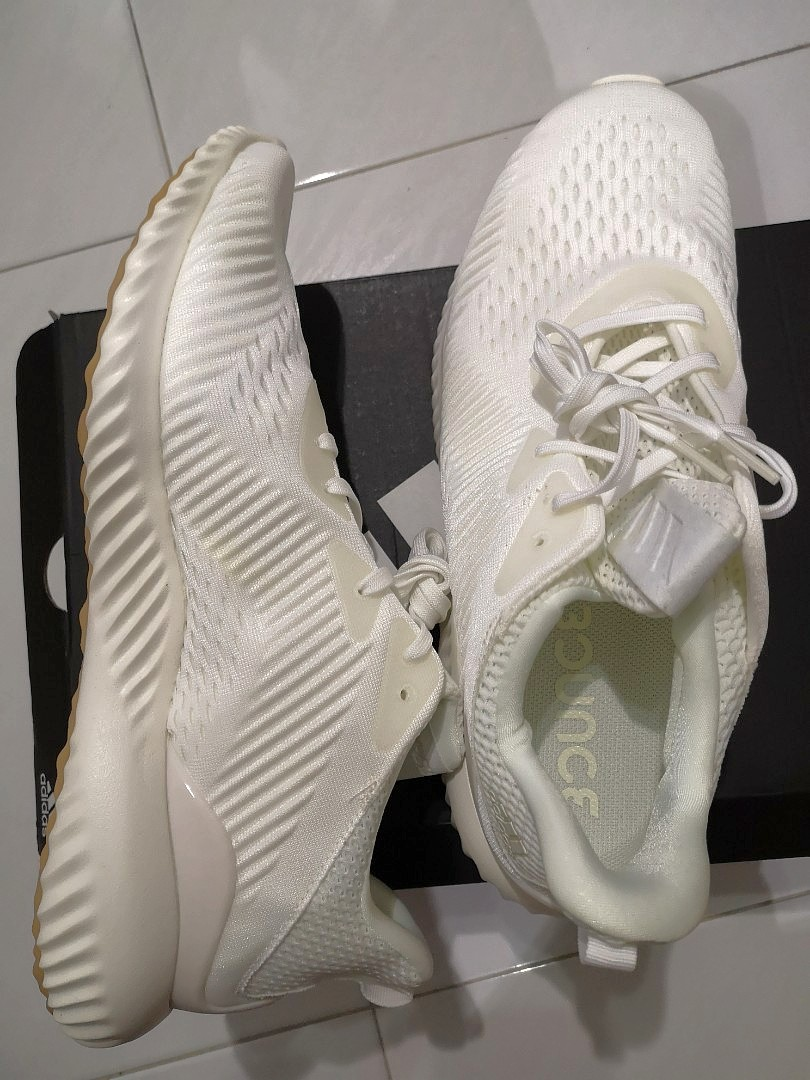 4325997dae05c Adidas alphabounce undye (White)