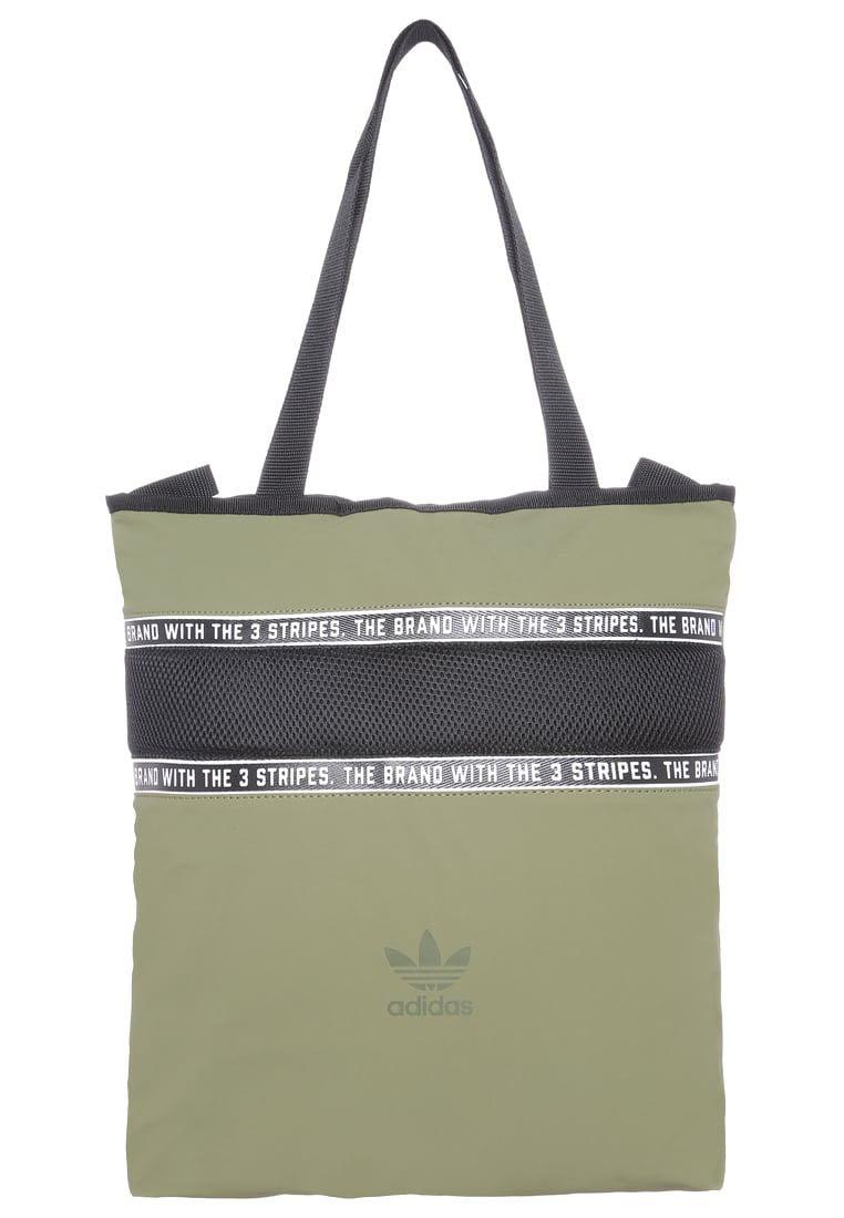 5c6a37a1aa54 Adidas Originals 3 Stripe Tote Bag (Green)
