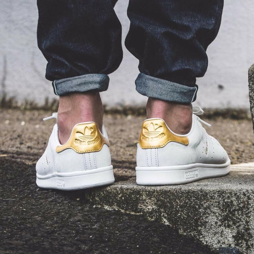 outlet store 2f425 e492a Adidas Stan Smith 24K Gold, Men's Fashion, Footwear ...