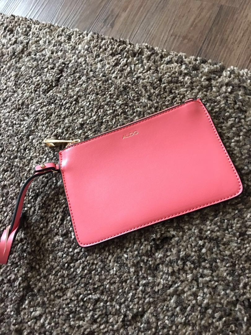 dfbc16be915 Aldo pink small pouch