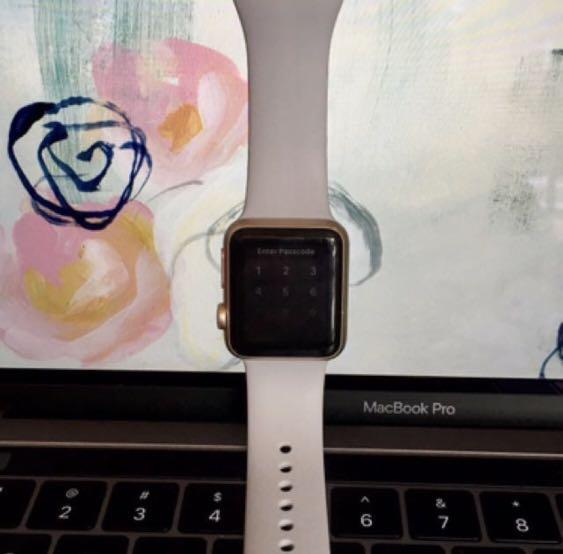 Apple Watch Series 1 38mm Gold
