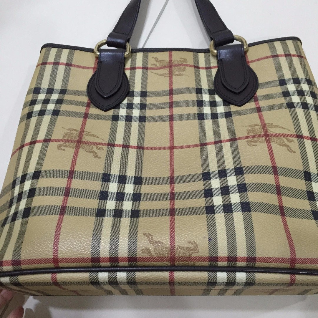 30cb6d62a39a Authentic Burberry Tote Bag