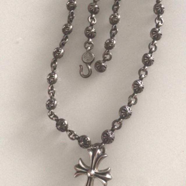 d0340363c8b2 Authentic Chrome Hearts Necklace Luxury Accessories On Carou
