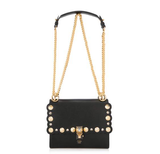 Authentic Fendi KAN I Small Bag 179071bc3b6ea