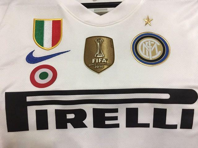 """sports shoes db2b2 dacaf AUTHENTIC Nike INTER MILAN 2010-2011 Away """"Dragon"""" Jersey ..."""