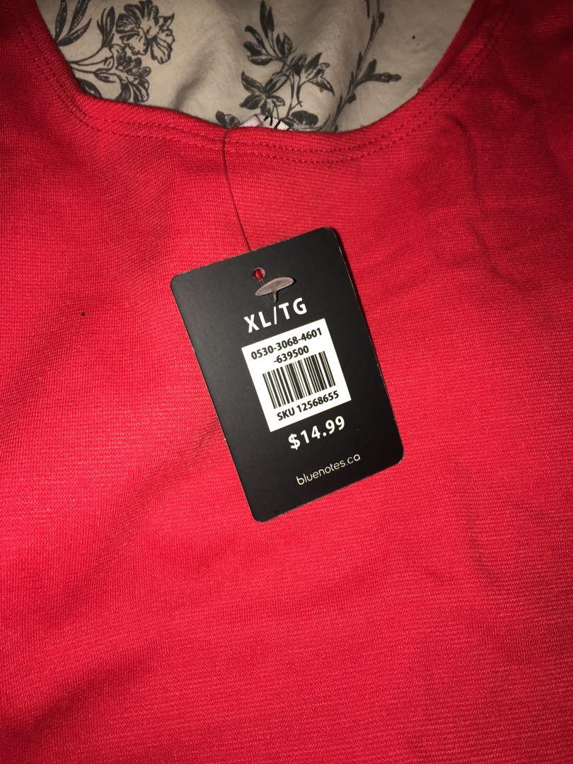 Brand New XL Bluenotes Dress
