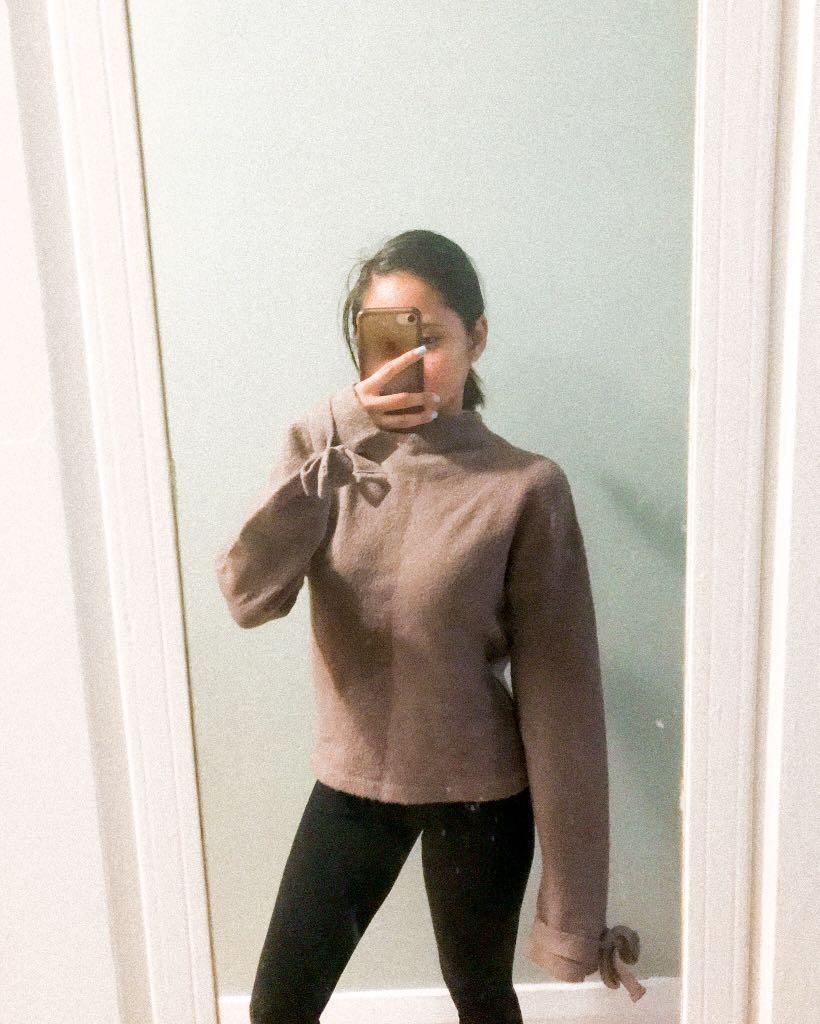 Brownish Purple Sweater