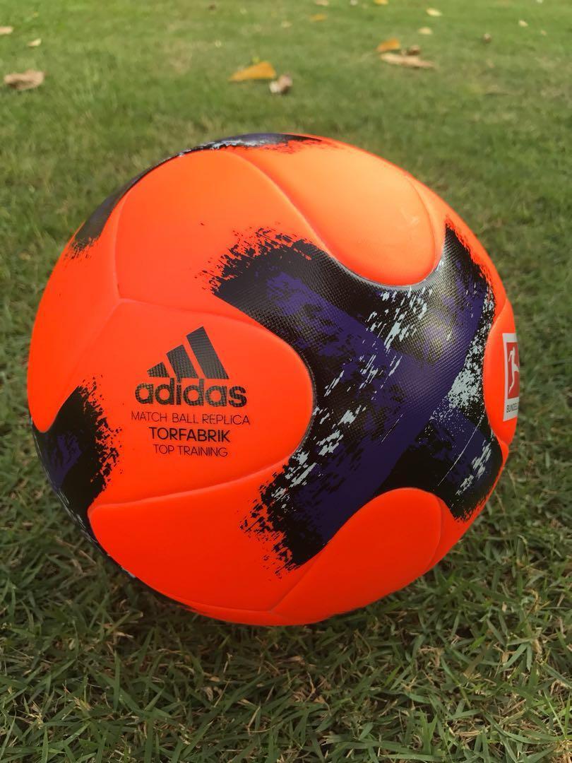 hot sales cdaf6 ba19a Bundesliga Adidas Top Training Torfabrik - Match Ball ...