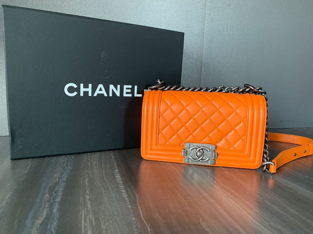 Chanel Boy Small  30a4229f3be3c